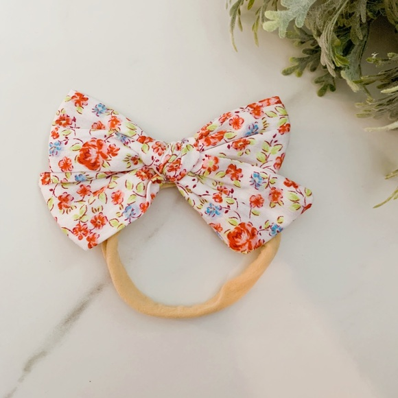 Other - New Soft elastic hair band with bow
